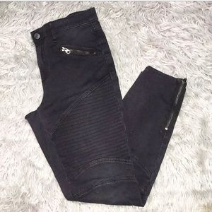 GAP Motor Cycle Inspired Skinny Jeans